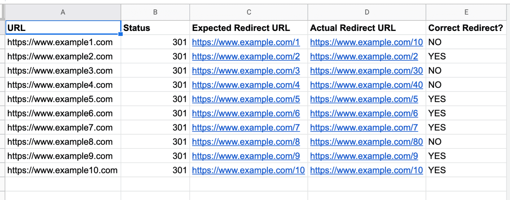301 Redirect Checker – Easily Bulk Test Redirects For Site Migrations
