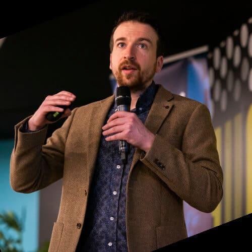 Rory Truesdale speaking